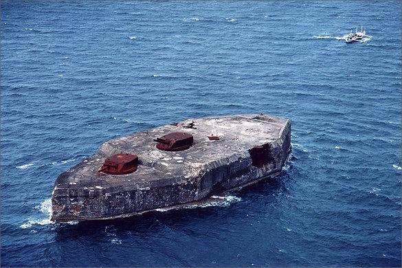 Fort Drum, Corregidor, El Fraile, Manila Bay