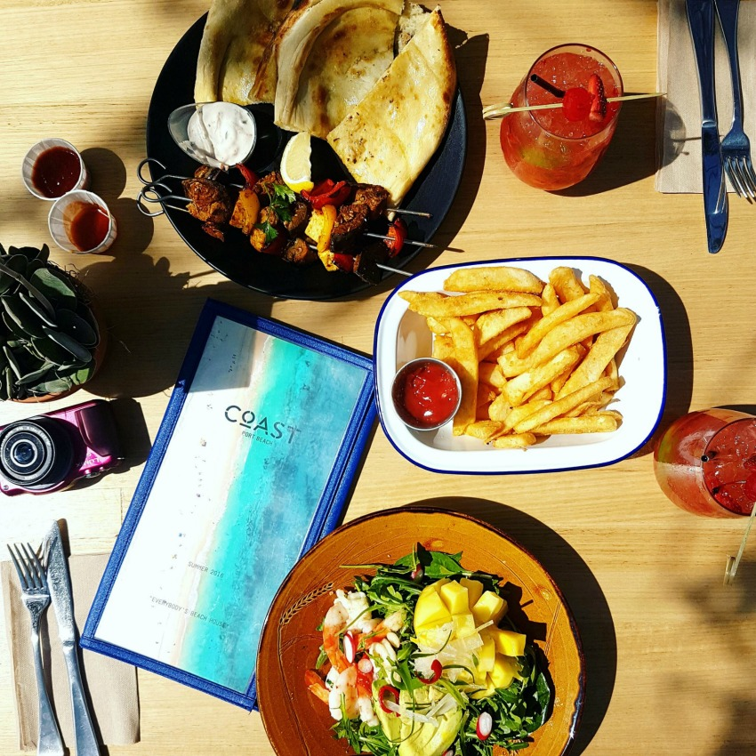 Lunch at Coast Port Beach Restaurant Perth Australia