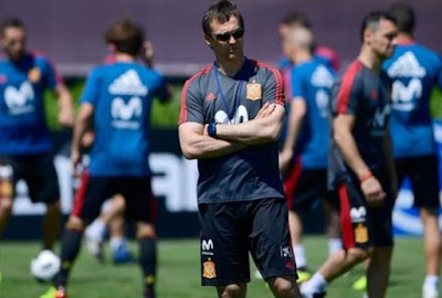 Spain Sacks Manager Ahead Of World Cup - Image ~ Naijabang