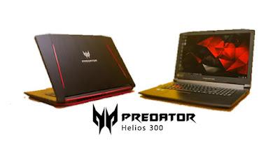 Harga dan Spesifikasi Laptop Gaming Acer Predator Helios 300 - www.helloflen.com