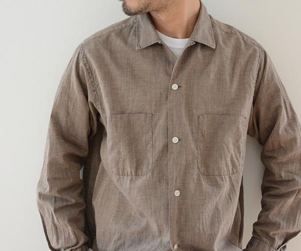 60sビンテージTOWNCRAFTタウンクラフトオープンカラーシャツ
