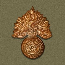 Royal Fusiliers Badge  (From Wikipedia)