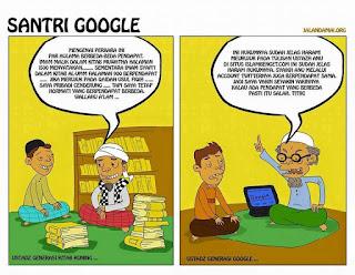 Akhi.. Ukhti.. Belajarlah Agama Cukup dari Internet