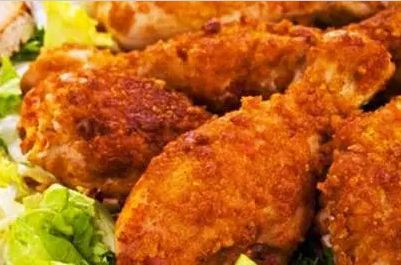 Ayam goreng padang renyah dan gurih