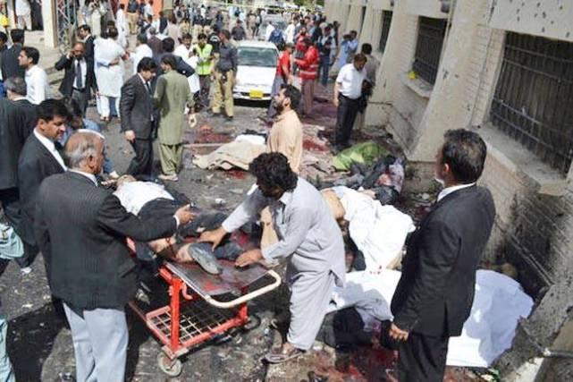 Serangan Bom Di Hospital Pakistan, 70 Maut, 100 Cedera