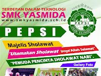 Design Brosur Ekstrakurikuler Pepsi SMK Yasmida