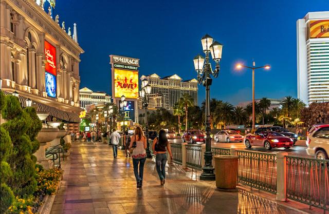 Passeio pela Strip em Las Vegas