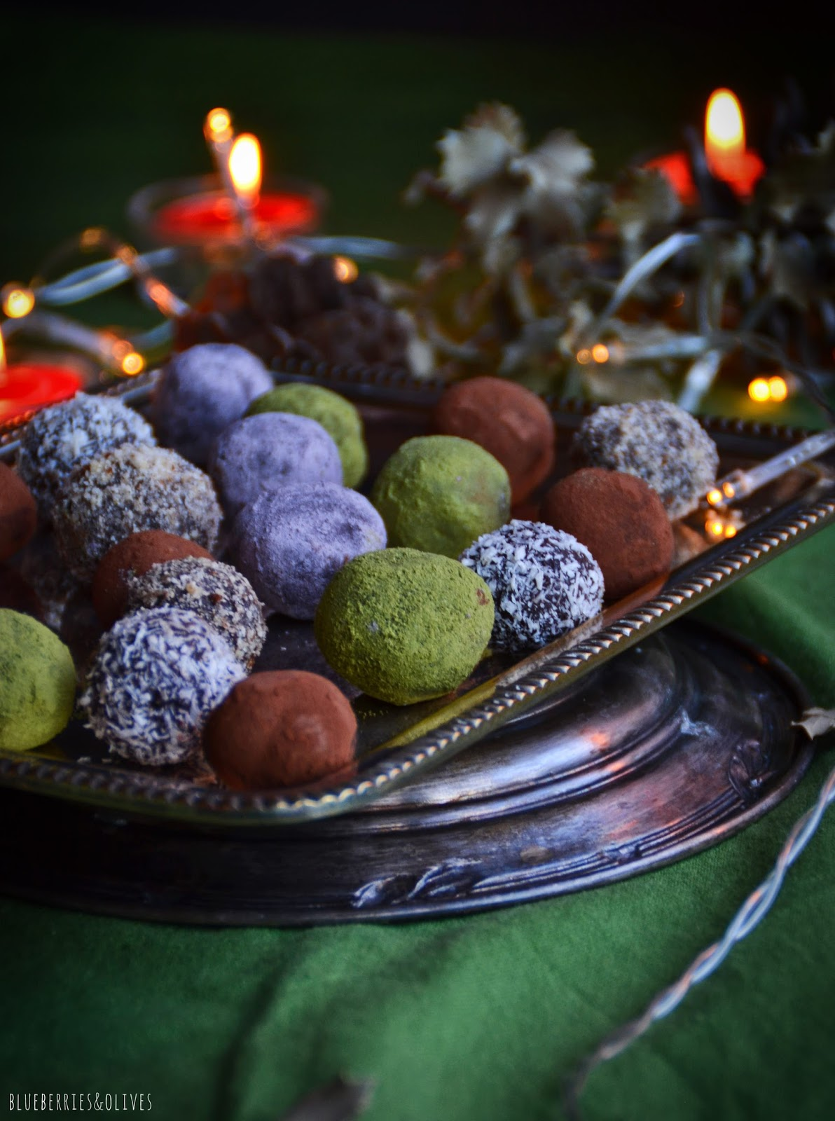 HOMEMADE CHOCOLATE TRUFFLES TO OFFER (GF, DF, VGT)