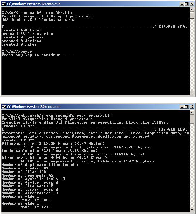 Cara Unpack Repack Software Guoxin GX6622 Firmware Editor