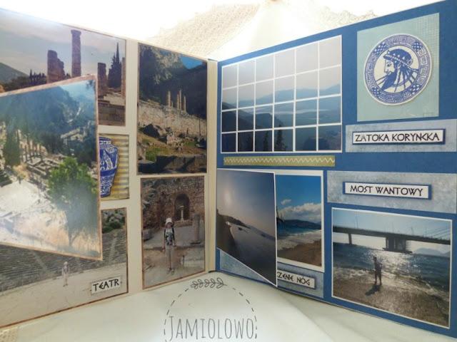 album z wycieczki po Grecji