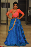 Nithya Shetty in Orange Choli at Kalamandir Foundation 7th anniversary Celebrations ~  Actress Galleries 131.JPG