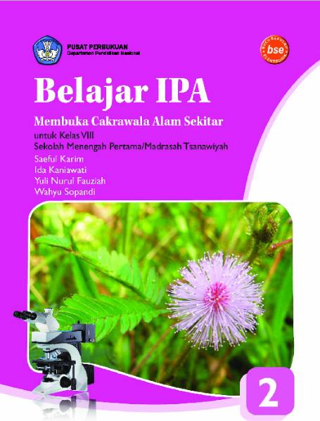 Download Buku Siswa KTSP SMP dan MTs Kelas 8 Belajar IPA Membuka Cakra Alam Sekitar