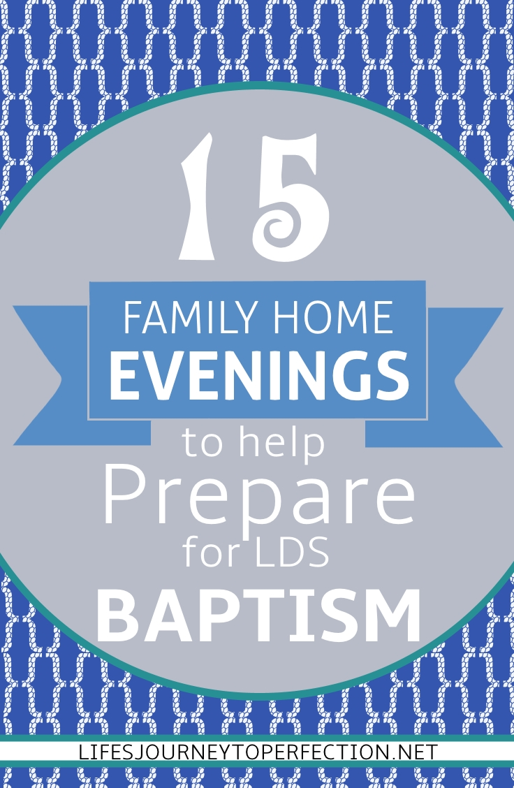 Life 39 s journey to perfection 15 family home evening ideas for Idea door family home evening