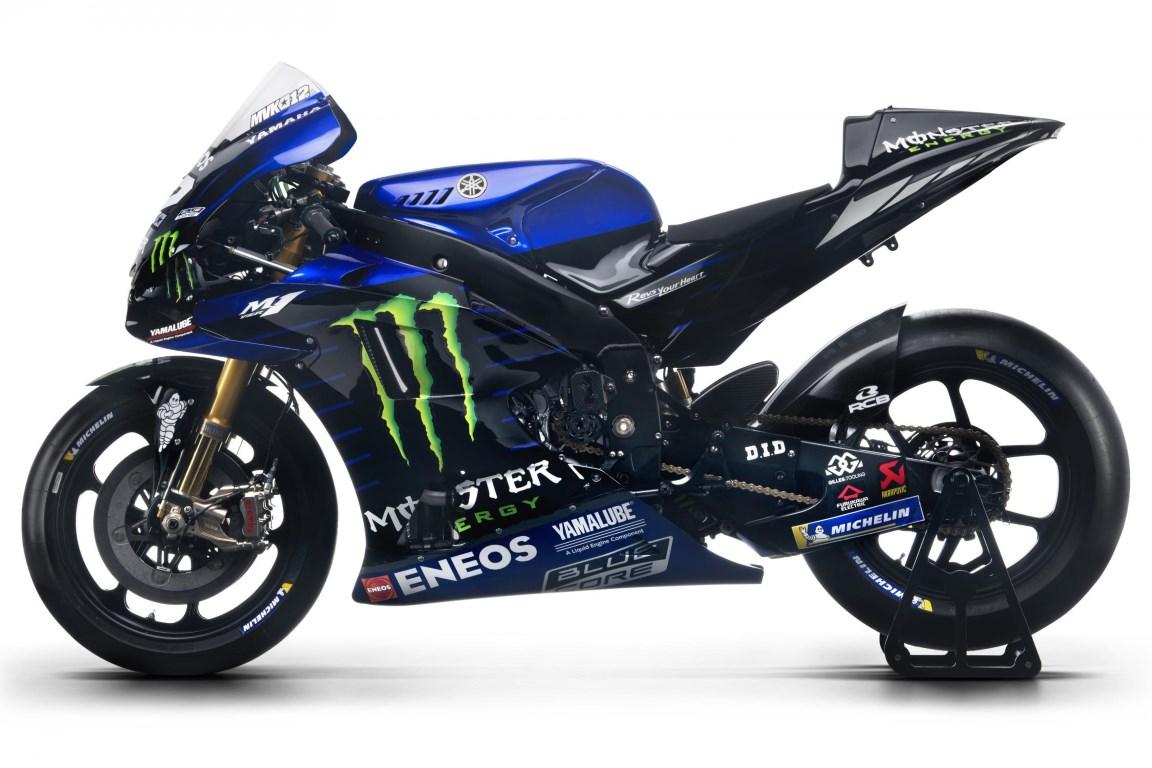 MotoGP : Tim pabrikan Yamaha resmi perkenalkan motor dan livery 2019, gak semuanya hitam sob !