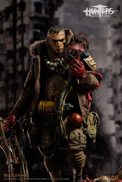 osw.zone BLITZWAY X BHEADworks 1 / 6th scale Hunters: Day after WWIII - YOUNG 12 inch Collectible Figurine