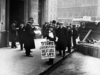 The Titanic, Newspaper Boy, UK History