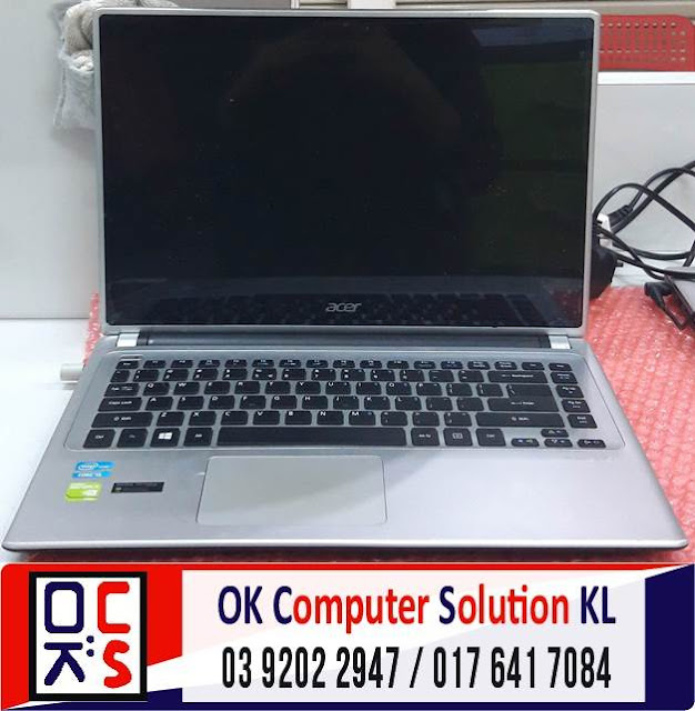 [SOLVED] LAPTOP ACER ASPIRE V5-471PG NO DISPLAY | REPAIR LAPTOP CHERAS 4