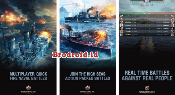 Download World of Warships Blitz Apk Mod Android