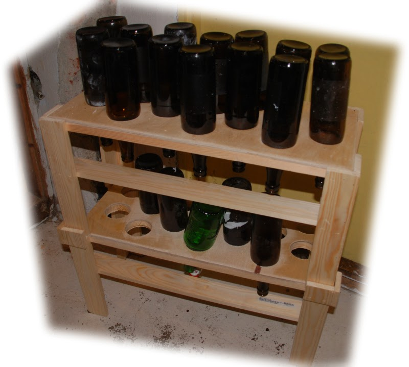 martins gjoren og laden beer bottle drying rack ver 2 0
