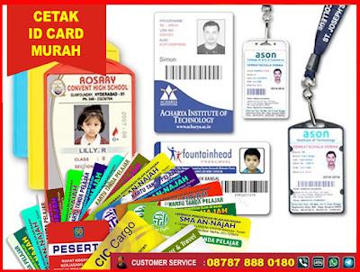 tempat cetak id card murah