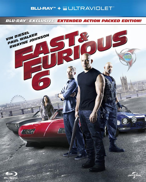 Fast & Furious 6 2013 Extended BluRay 300mb ESub