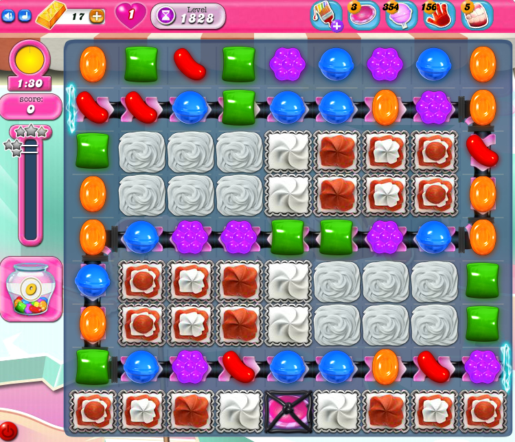 Candy Crush Saga 1828
