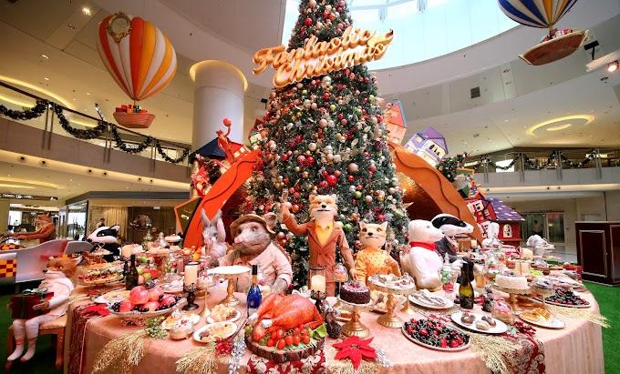 【聖誕節目】圓方「Feeling Fantastic This Christmas」 狐狸先生與你開派對