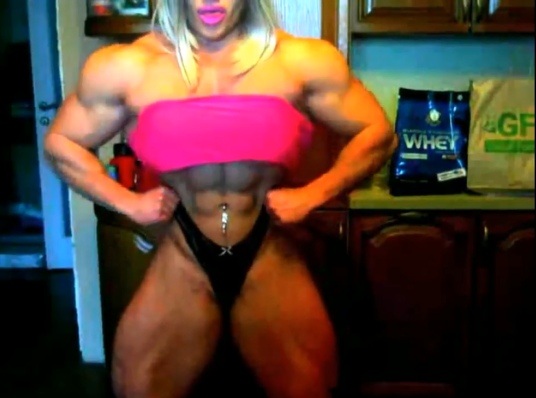 Video Biggest Russian Female Bodybuilder In The World