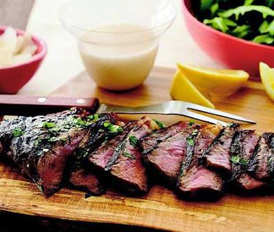 وصفات طريقة عمل اللحم المشوي المتبل