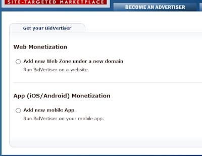 Cara Mendaftar dan Memasang Iklan di BidVertiser