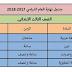 جدول امتحانات الصف الثالث الإبتدائى محافظة الإسكندرية ترم ثانى2018