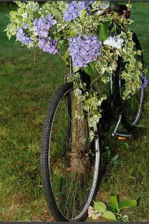 Bicicleta vintage boda flores deco decoración Cádiz