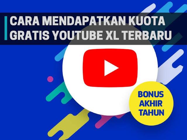 Cara Mendapatkan Kuota Youtube XL Gratis Terbaru