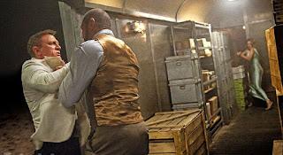 Spectre James Bond Mr. Hinx train fight