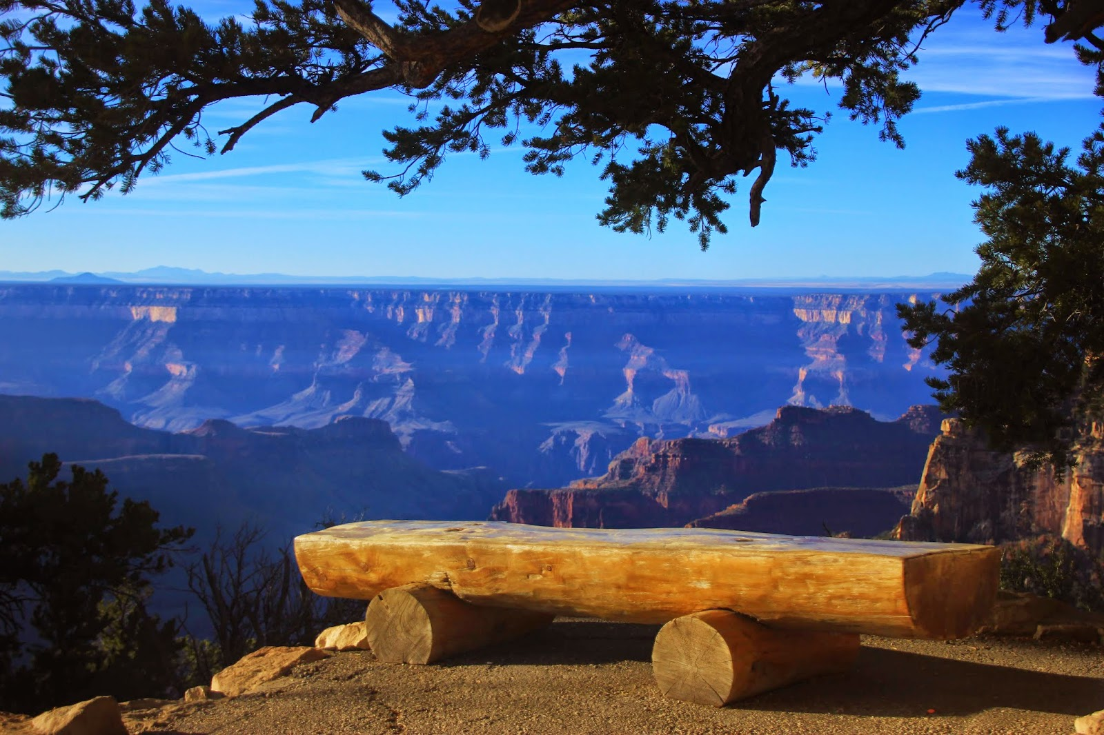 Grand Canyon - North Rim, Bright Angel Point