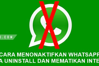 Cara Menonaktifkan WhatsApp Supaya Pesan Terlihat Tidak diterima