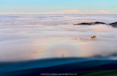 Fotografia dello Spettro di Brocken in Oltrepò