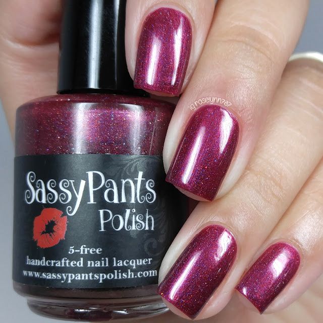 Crimson Cranberry by Sassy Pants Polish