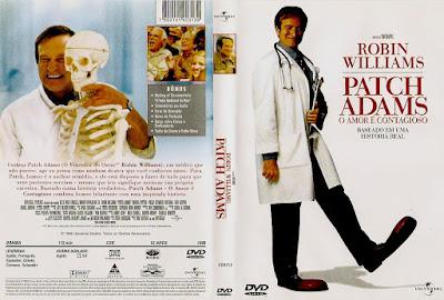 Filme Patch Adams - O Amor é Contagioso DVD Capa