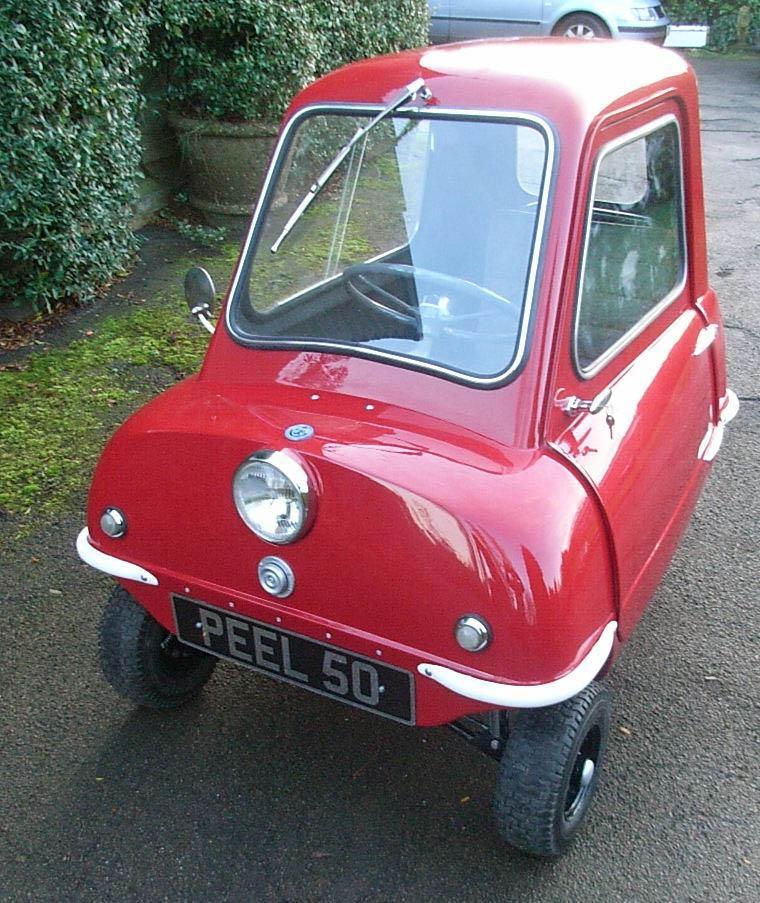 Pix Grove: World's Smallest Production Car