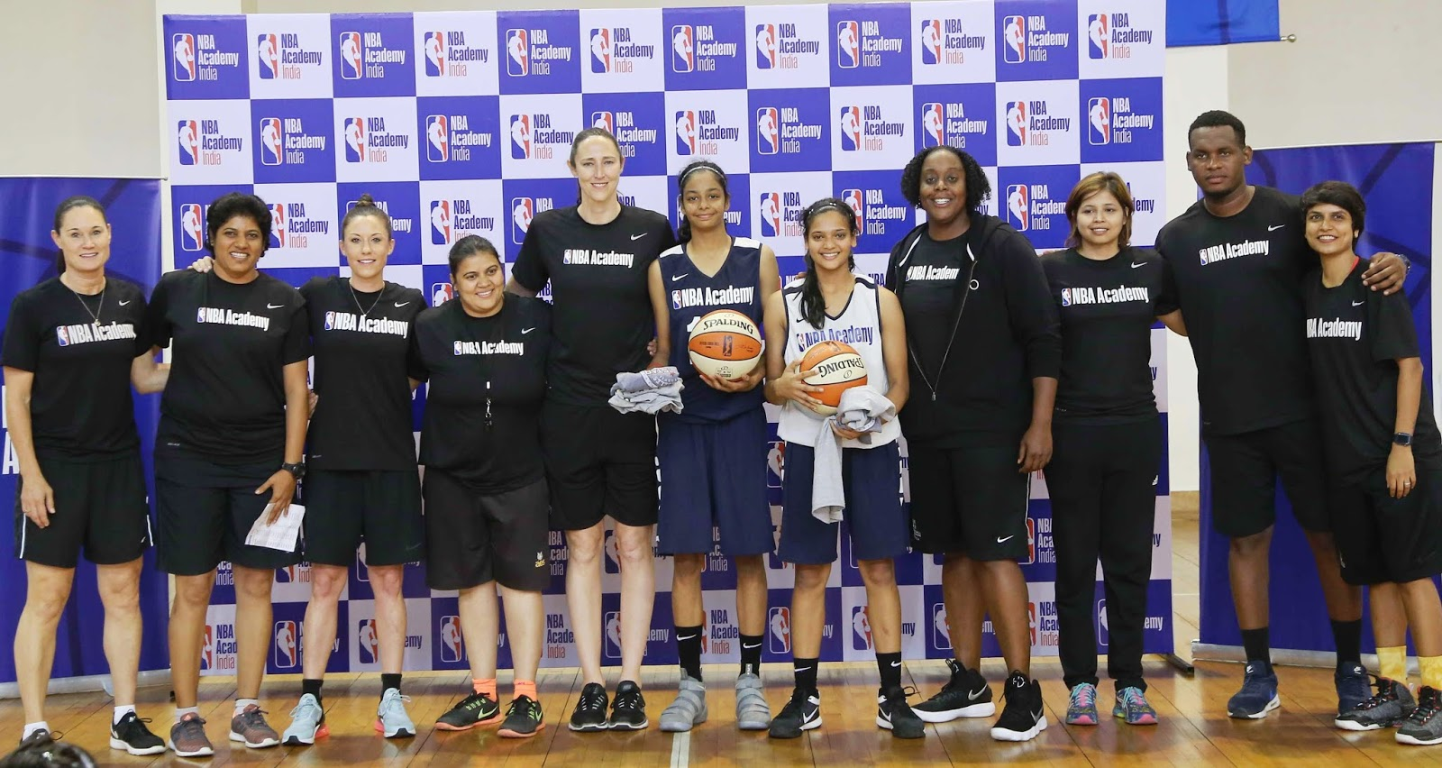 93820b47d09c The first-ever NBA Academy Women s camp concluded today with a championship  game played between Team Liberty and Team Sparks at The NBA Academy India  in ...