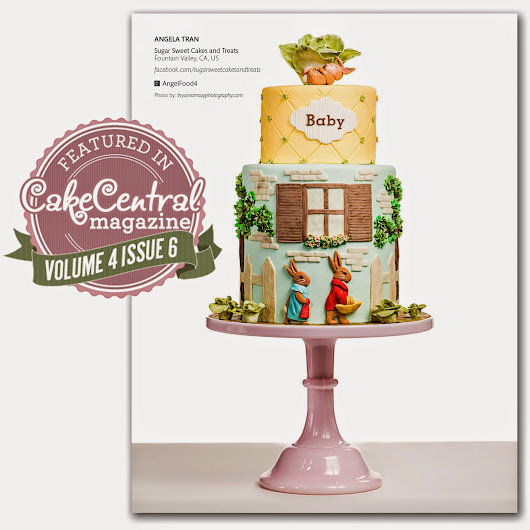Sugar Sweet Cakes and Treats: Featured in CakeCentral Magazine (June 2013)