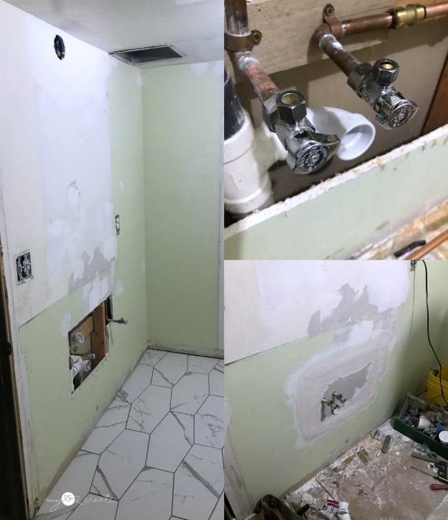 moving vanity plumbing