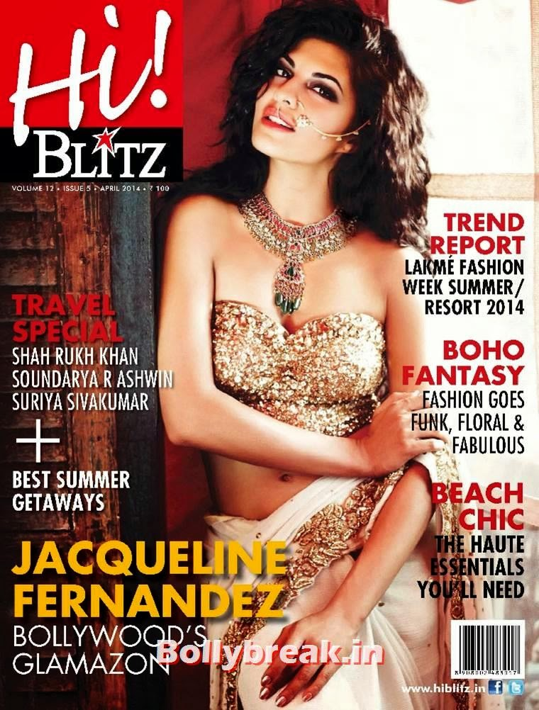 , Jacqueline Fernandez Hi Blitz Magazine Scans