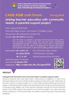 Linking teacher education with community needs: A parental support project