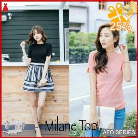 AFO457 Model Fashion Milane Top Modis Murah BMGShop