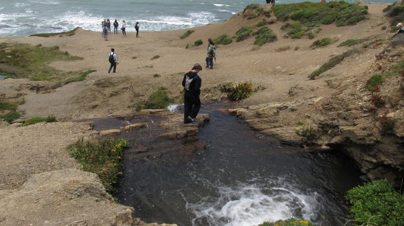 Alamere Falls, A waterfall that flows directly into the Ocean