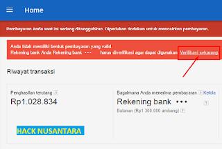 135 daftar bank yang digunakan untuk pembayaran google adsense