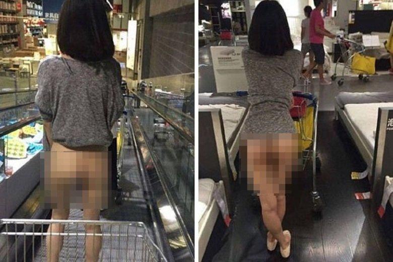Upskirt gostosa fazendo compras - 1 part 9