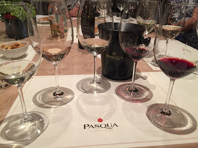 wines of Pasqua winery in Valpolicella